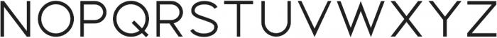 Distinct Style Sans Light Regular otf (300) Font LOWERCASE