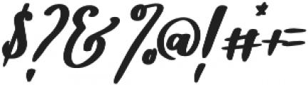 Diveil Script Regular otf (400) Font OTHER CHARS
