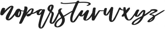 Diveil Script Regular otf (400) Font LOWERCASE