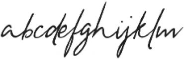 Divine Light Hand Divine Light Hand otf (300) Font LOWERCASE