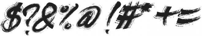Divine Razier otf (400) Font OTHER CHARS
