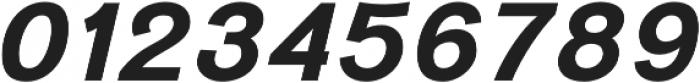 Divulge Bold Italic otf (700) Font OTHER CHARS
