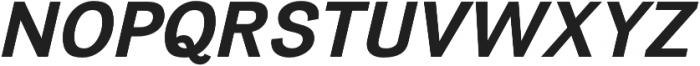 Divulge Bold Italic otf (700) Font UPPERCASE