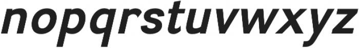 Divulge Bold Italic otf (700) Font LOWERCASE