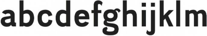 Divulge Bold otf (700) Font LOWERCASE
