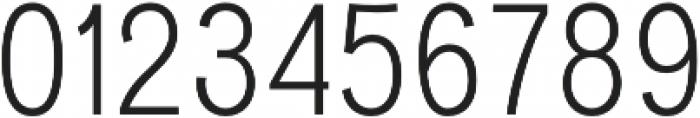 Divulge Condensed Light otf (300) Font OTHER CHARS