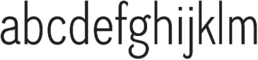 Divulge Condensed Light otf (300) Font LOWERCASE