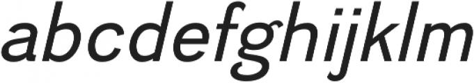 Divulge Italic otf (400) Font LOWERCASE