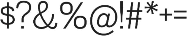 Divulge Light otf (300) Font OTHER CHARS