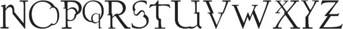dissonusX ttf (400) Font UPPERCASE