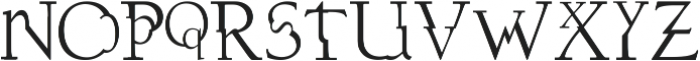 dissonusX ttf (400) Font LOWERCASE