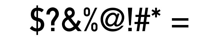 DINMittelschriftStd Font OTHER CHARS