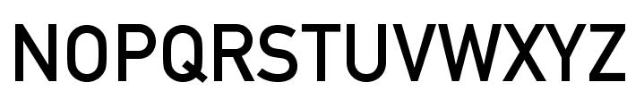 DINMittelschriftStd Font UPPERCASE
