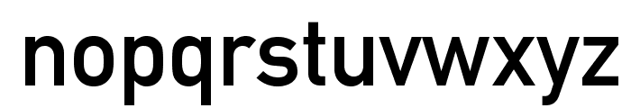 DINMittelschriftStd Font LOWERCASE