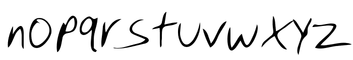 Dino Regular Font LOWERCASE