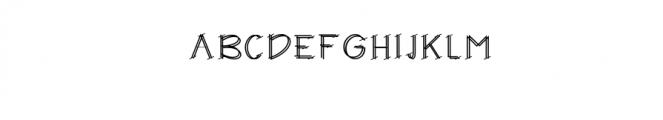 DIXIE.ttf Font UPPERCASE