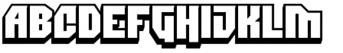 Dimitri Swank Font UPPERCASE