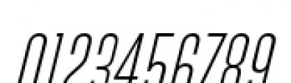Directors Gothic 210 Light Oblique Font OTHER CHARS