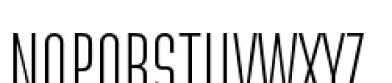 Directors Gothic 210 Light Font UPPERCASE