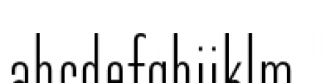 Directors Gothic 210 Light Font LOWERCASE