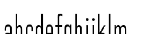 Directors Gothic 210 Regular Font LOWERCASE