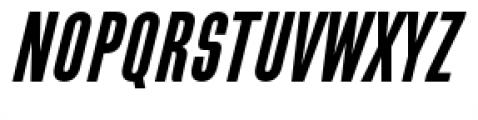 Directors Gothic 210 Semi Bold Oblique Font UPPERCASE