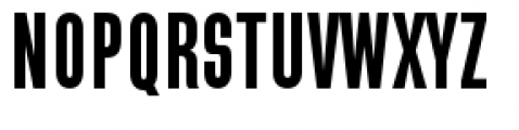 Directors Gothic 210 Semi Bold Font UPPERCASE