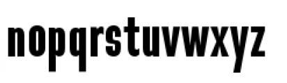 Directors Gothic 210 Semi Bold Font LOWERCASE
