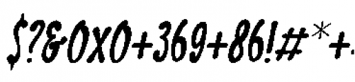 Discolicious Italic Font OTHER CHARS
