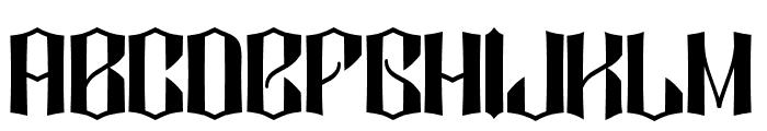 DIAMOND DUST Font UPPERCASE
