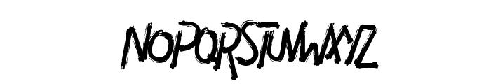 DIAVOLO Font UPPERCASE