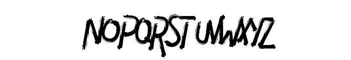 DIAVOLO Font LOWERCASE