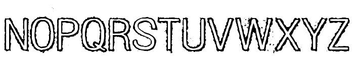 DIESEL Font UPPERCASE