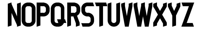 DIESELPUNK Font UPPERCASE