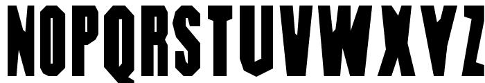 DIG DUG Font UPPERCASE