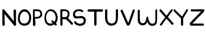 DILBERTFONT2 Font UPPERCASE