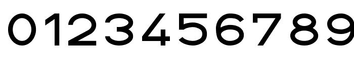 DIN 1451 fette Breitschrift 1936 Font OTHER CHARS