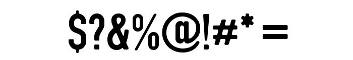DIN Rundschrift Eng Font OTHER CHARS