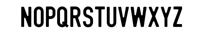DIN Rundschrift Eng Font UPPERCASE