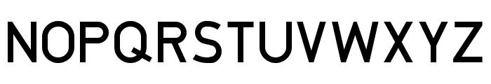 DIN1451-4H_08.87 Font UPPERCASE