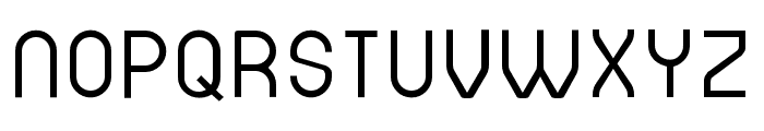 DINASTI-Regular Font LOWERCASE