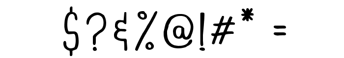 DINSKI CASUAL CONDENSED Font OTHER CHARS