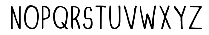 DINSKI CASUAL CONDENSED Font LOWERCASE