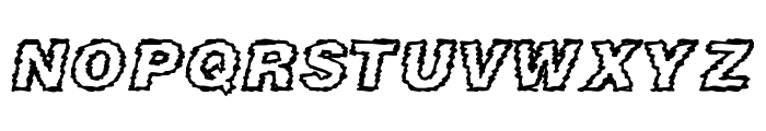 DIRTY NEWS Font LOWERCASE