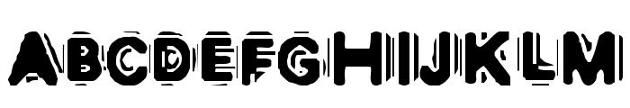 DISCOBOX Font UPPERCASE