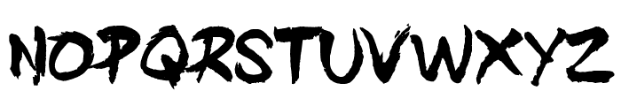DIST Inking Bold Font UPPERCASE