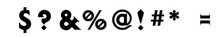 Diablo Heavy Font OTHER CHARS