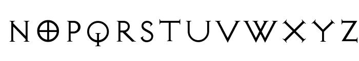 Diablo Light Font UPPERCASE