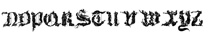 Diabolique Font LOWERCASE