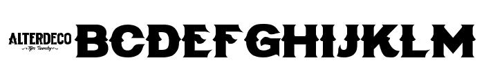 Dialog Font LOWERCASE
